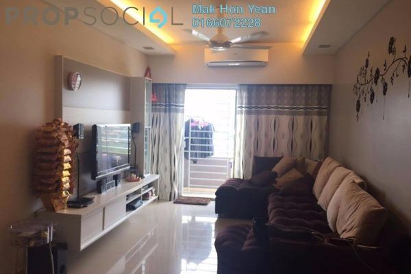 For Sale Condominium at Kinrara Mas, Bukit Jalil Freehold Semi Furnished 4R/2B 540k