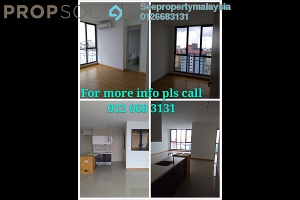 For Rent Condominium at KL Gateway, Bangsar South Leasehold Semi Furnished 1R/1B 1.8k