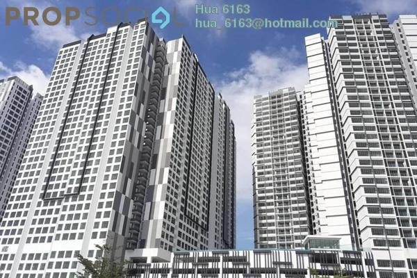 For Rent Condominium at D'Summit Residences, Skudai Freehold Fully Furnished 3R/2B 3k
