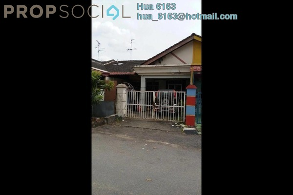 For Sale Terrace at Taman Bukit Rinting, Pasir Gudang Freehold Unfurnished 3R/2B 295k