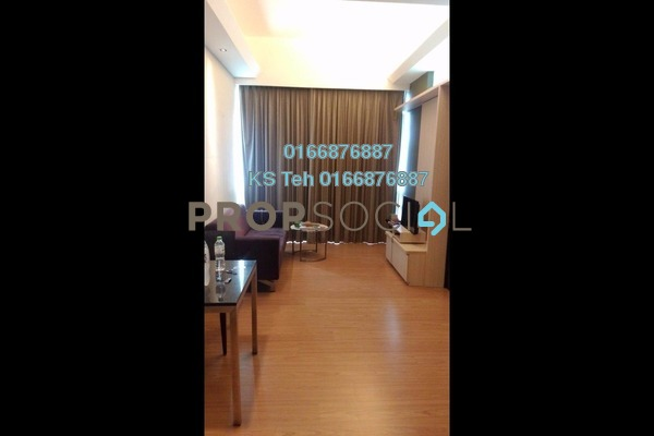For Rent SoHo/Studio at Swiss Garden Residences, Pudu Freehold Fully Furnished 1R/1B 2.3k