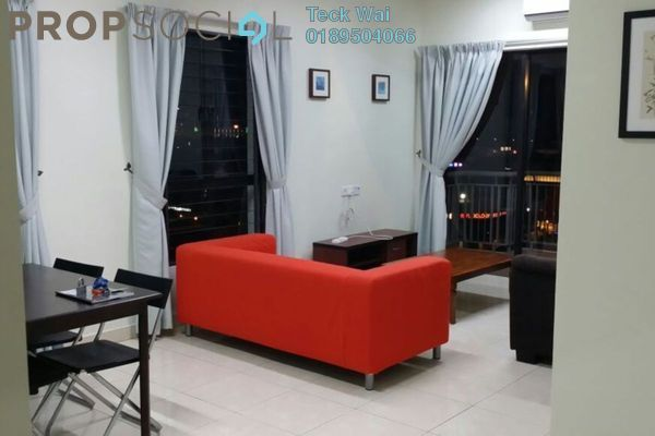 For Rent Condominium at Casa Indah 1, Tropicana Leasehold Fully Furnished 2R/2B 2.15k