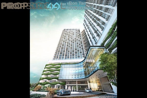 For Sale Condominium at Eco Terraces, Paya Terubong Freehold Unfurnished 3R/2B 920k