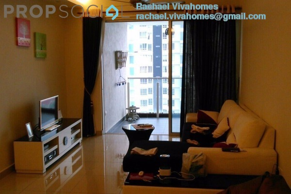For Sale Condominium at Zen Residence, Puchong Leasehold Fully Furnished 3R/2B 520k