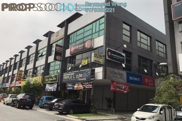 For Rent Office at Lake Fields, Sungai Besi Leasehold Unfurnished 0R/2B 3.6k