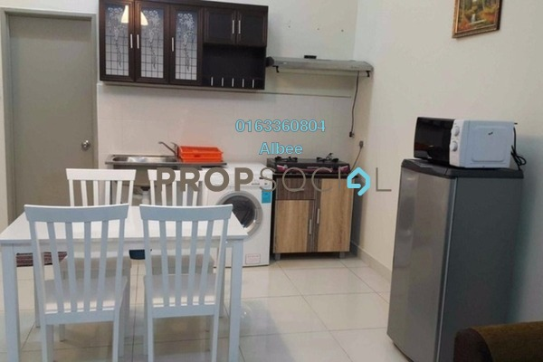 For Rent Condominium at Vue Residences, Titiwangsa Freehold Fully Furnished 2R/1B 1.9k