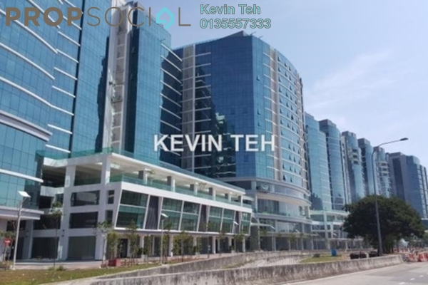 For Rent Office at UOA Business Park, Saujana Freehold Semi Furnished 0R/0B 75k