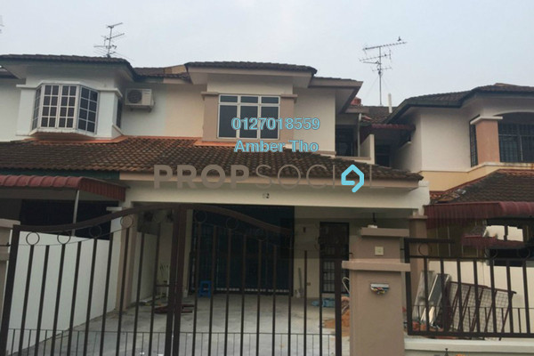 For Rent Terrace at Taman Jaya Baru, Cheras South Freehold Unfurnished 3R/2B 1.21k
