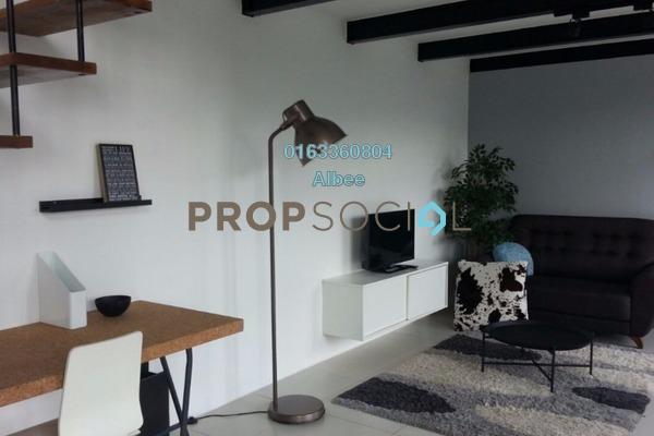 For Rent Condominium at Empire City, Damansara Perdana Leasehold Fully Furnished 1R/1B 1.7k