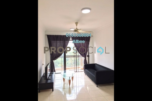 For Rent Condominium at Casa Indah 1, Tropicana Leasehold Fully Furnished 3R/2B 2.1k