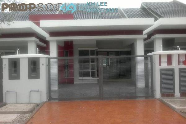 For Rent Terrace at Alam Nusantara, Setia Alam Freehold Unfurnished 3R/2B 1.2k