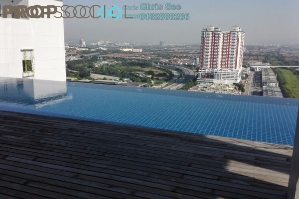For Rent Condominium at One City, UEP Subang Jaya Freehold Semi Furnished 1R/1B 1.2k