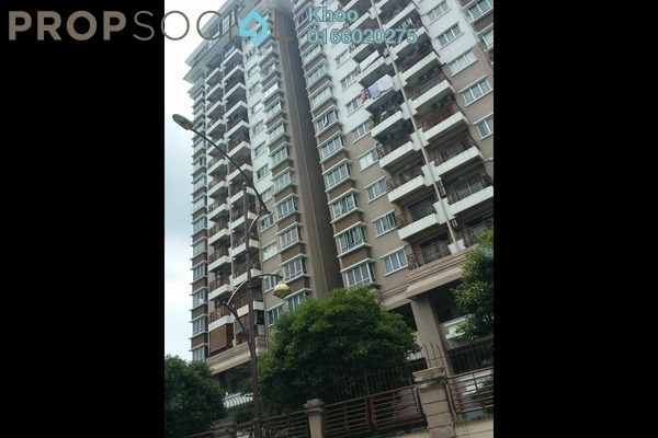 For Rent Condominium at Ampang Boulevard, Ampang Leasehold Semi Furnished 3R/2B 2.2k