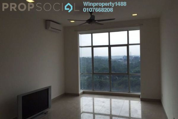 For Rent Condominium at Lakeview Residency, Cyberjaya Freehold Semi Furnished 3R/2B 1.6k