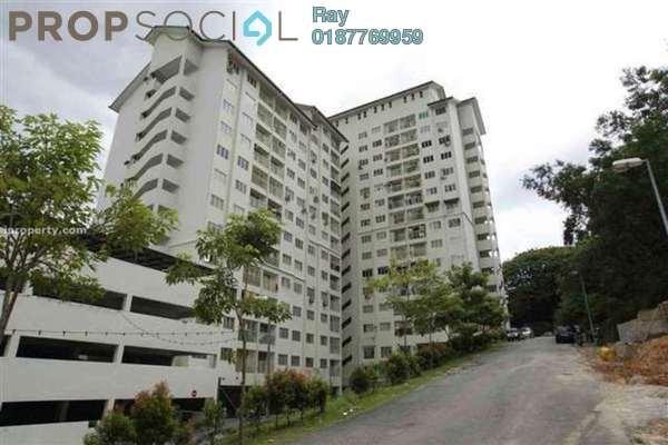 For Rent Apartment at Desa Tenaga Apartment, Old Klang Road Freehold Semi Furnished 2R/2B 1.4k