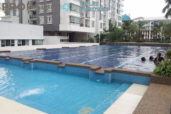 For Sale Serviced Residence at Zenith Residences, Kelana Jaya Leasehold Fully Furnished 3R/2B 860k