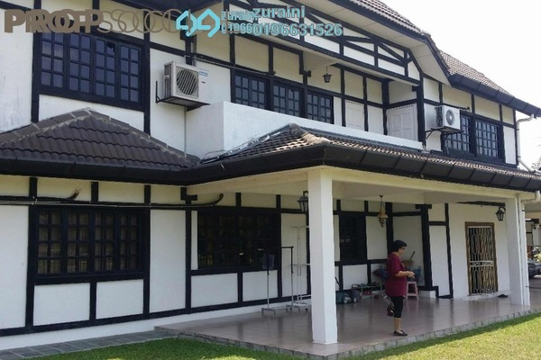 For Sale Bungalow at SL8, Bandar Sungai Long Freehold Semi Furnished 7R/6B 3.55m