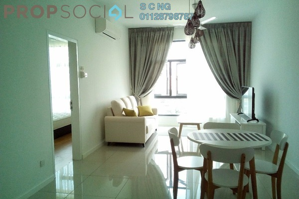 For Rent Condominium at Urbana Residences @ Ara Damansara, Ara Damansara Leasehold Fully Furnished 2R/2B 2.3k