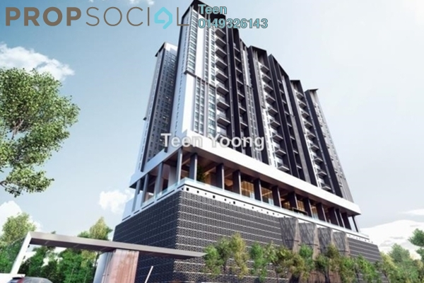 For Sale Condominium at The Andes, Bukit Jalil Freehold Semi Furnished 3R/2B 630k