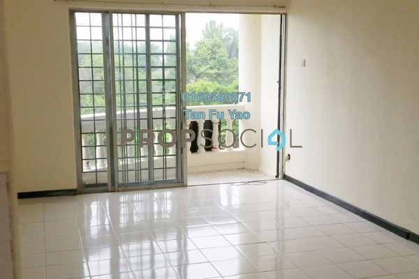 For Rent Apartment at Keranji Apartment, Subang Jaya Freehold Semi Furnished 3R/2B 1.1k