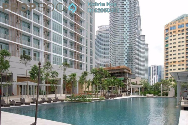 For Rent Condominium at Hampshire Residences, KLCC Freehold Fully Furnished 1R/1B 2.8k