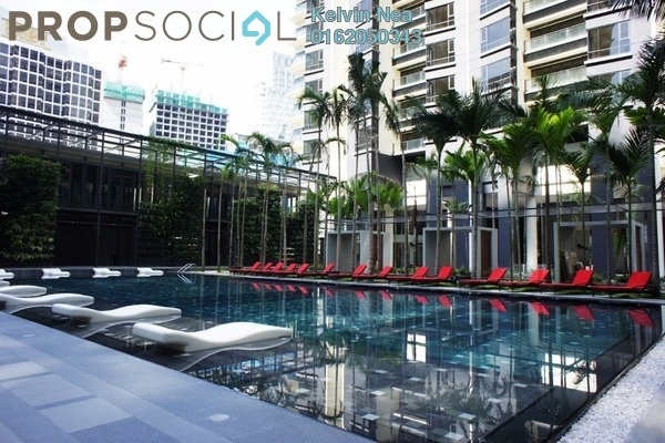 For Rent Condominium at St Mary Residences, KLCC Freehold Fully Furnished 1R/1B 4k