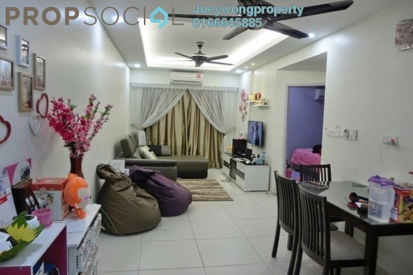 For Sale Condominium at Calisa Residences, Puchong Leasehold Semi Furnished 3R/2B 340k