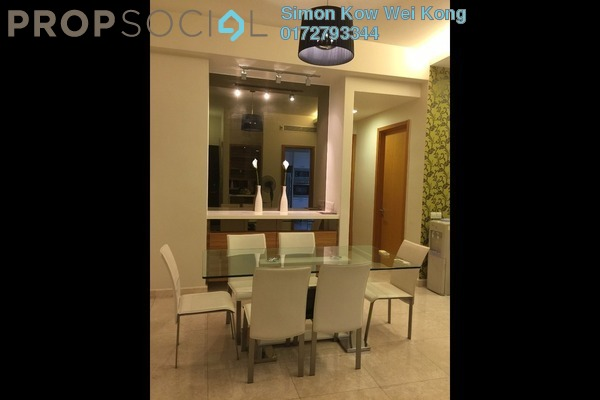 For Rent Condominium at The Meritz, KLCC Freehold Fully Furnished 2R/2B 4.9k