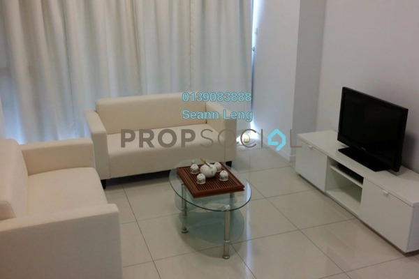 For Rent Serviced Residence at Cascades, Kota Damansara Leasehold Fully Furnished 2R/2B 3.1k
