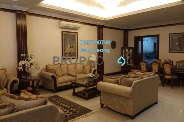 For Sale Terrace at Duta Tropika, Dutamas Freehold Semi Furnished 5R/5B 3.93m