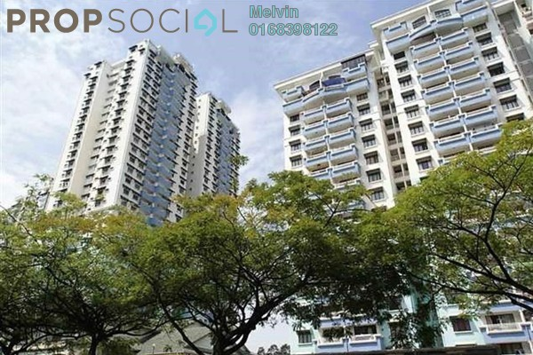 For Sale Condominium at Vista Komanwel, Bukit Jalil Freehold Fully Furnished 3R/2B 600k