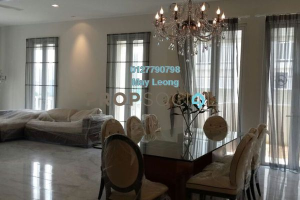 For Rent Semi-Detached at Villa Serene Kiara, Mont Kiara Freehold Semi Furnished 5R/5B 14k
