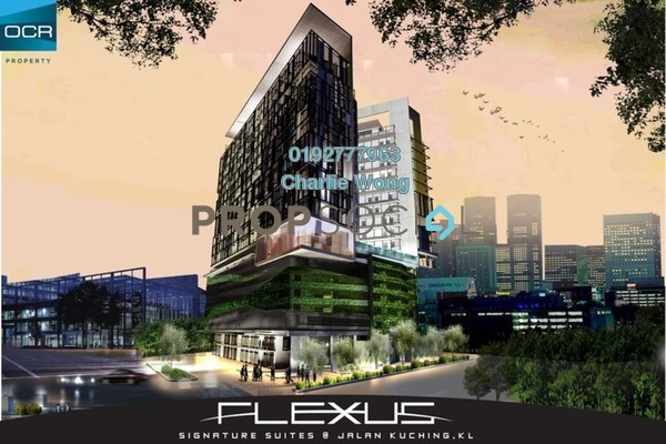 For Sale SoHo/Studio at Flexus Signature Suites, Segambut Freehold Semi Furnished 1R/1B 468k