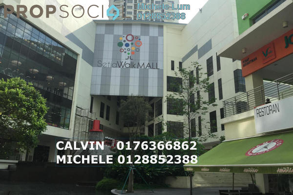 For Rent Shop at Setia Walk, Pusat Bandar Puchong Freehold Unfurnished 1R/2B 9.4k