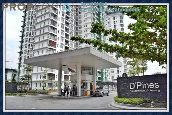 For Sale Condominium at D'Pines, Pandan Indah Leasehold Semi Furnished 3R/2B 700k