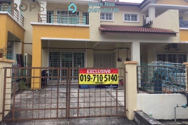 For Sale Terrace at Seri Pristana, Sungai Buloh Leasehold Semi Furnished 4R/3B 430k