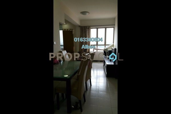 For Rent Condominium at Ritze Perdana 1, Damansara Perdana Leasehold Semi Furnished 1R/1B 1.1k