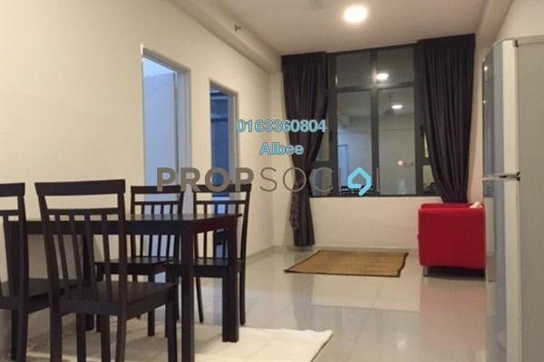For Rent Condominium at Centrestage, Petaling Jaya Leasehold Semi Furnished 1R/1B 1.4k