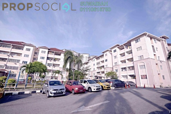 For Sale Apartment at Desa Saujana, Seri Kembangan Freehold Unfurnished 3R/2B 270k