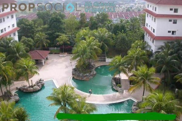 For Rent Condominium at Sri Alam, Shah Alam Freehold Semi Furnished 3R/2B 1.3k
