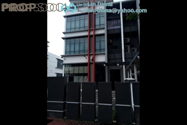 For Sale Factory at Mega 2 Industrial Park, Kajang Freehold Semi Furnished 4R/5B 3.8m