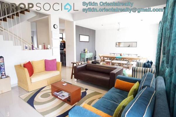 For Sale Terrace at Maple Terrace, Denai Alam Freehold Semi Furnished 6R/5B 1.4m