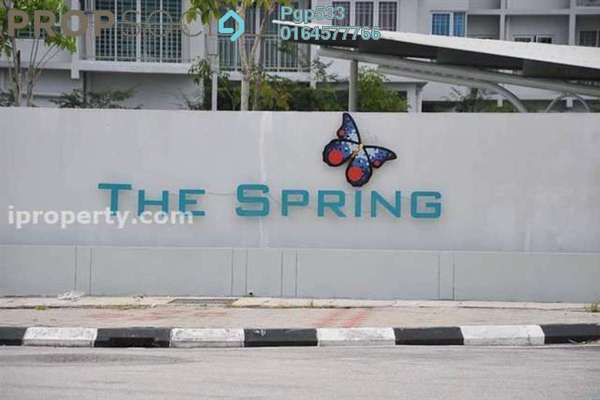 For Sale Condominium at The Spring, Jelutong Leasehold Unfurnished 3R/2B 580k