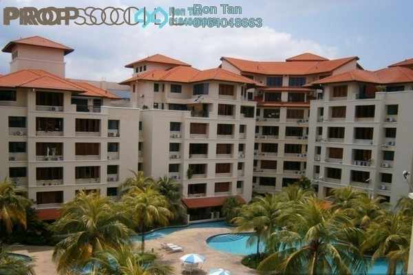 For Sale Condominium at Bellisa Court, Pulau Tikus Freehold Semi Furnished 3R/2B 1.15m