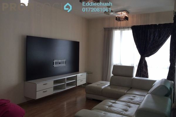 For Rent Condominium at Casa Indah 2, Tropicana Leasehold Fully Furnished 3R/2B 2.4k