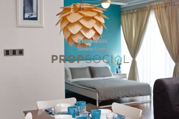 For Rent Condominium at Ritze Perdana 2, Damansara Perdana Leasehold Fully Furnished 0R/1B 1.9k