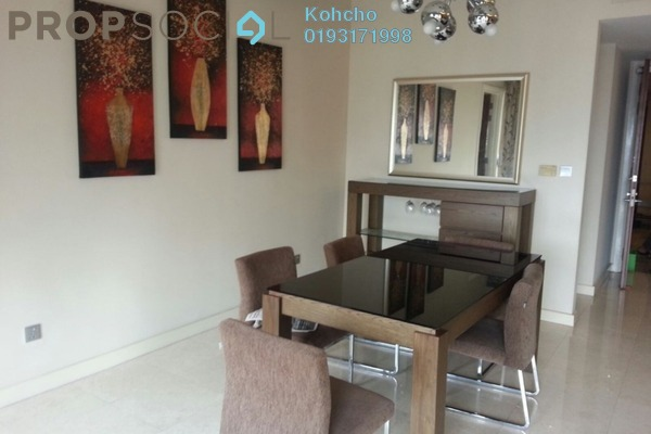 For Rent Condominium at Menara Pelangi, Brickfields Freehold Semi Furnished 3R/2B 2.2k