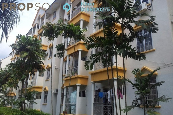 For Rent Condominium at Tiara Duta, Ampang Leasehold Fully Furnished 3R/2B 1.8k