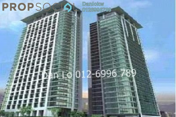 For Rent Office at Hampshire Place, KLCC Freehold Semi Furnished 1R/1B 57.5k