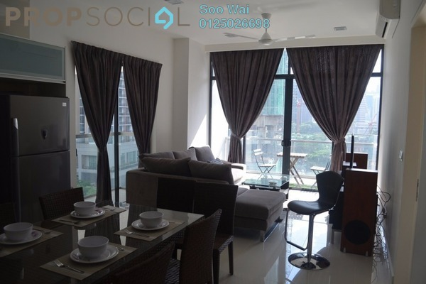 For Rent Condominium at Mirage Residence, KLCC Freehold Fully Furnished 1R/0B 4k